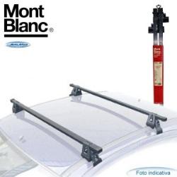 barre da tetto in acciaio per renault captur della gamma supra di montblanc
