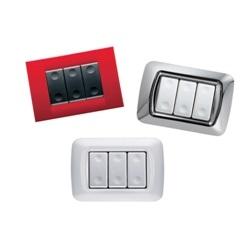 placchette per interruttori : gewiss-serie-system