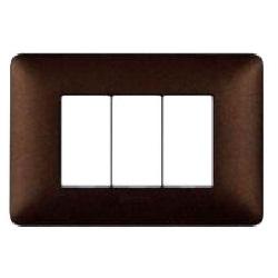 placchetta muro per interruttore : bticino matix marrone