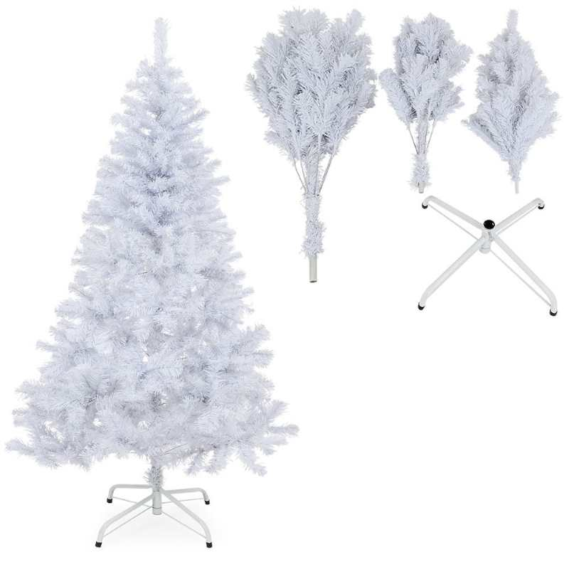 Albero Di Natale Bianco 90 Cm.Alberi Di Natale Bianchi