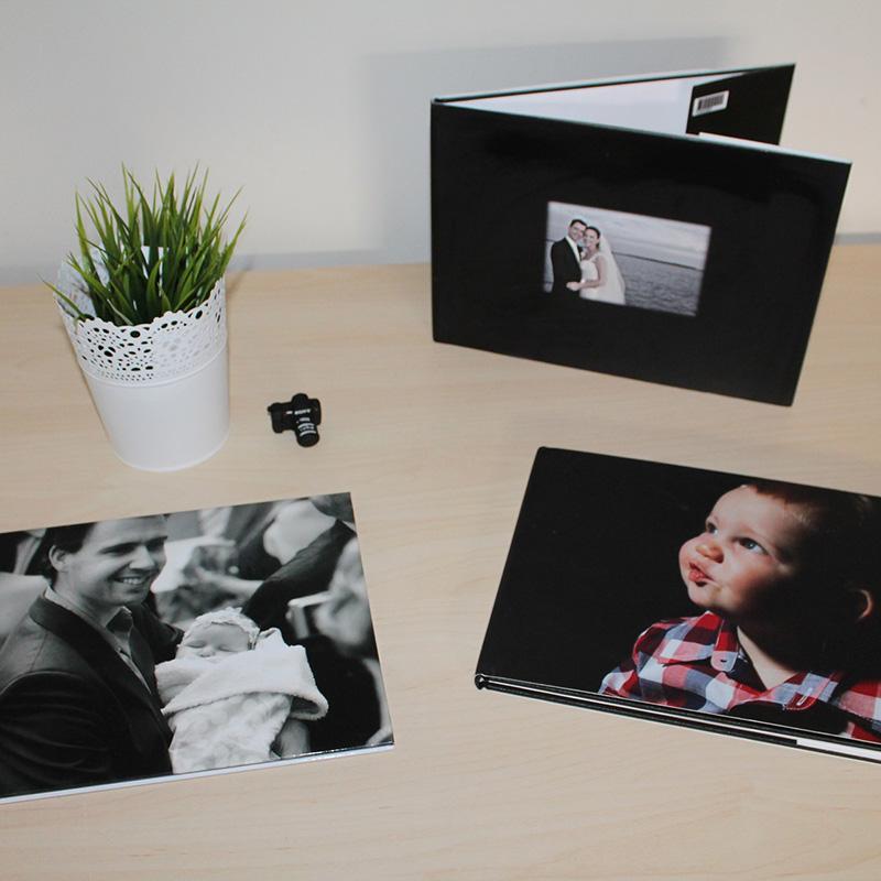 album foto pagine nere