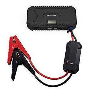 avviatore auto con batteria