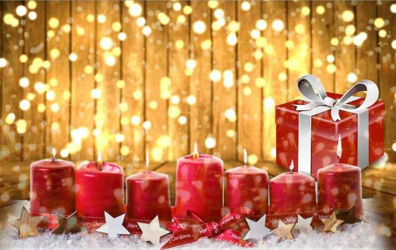 Candele e candeline di natale