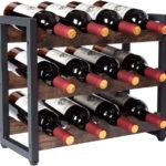 Cantinetta in ferro e legno per vino