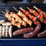 Carne Arrostita su Barbecue e Gas