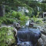 Cascate per laghetti da giardino