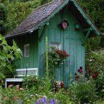 casette per attrezzi da giardino
