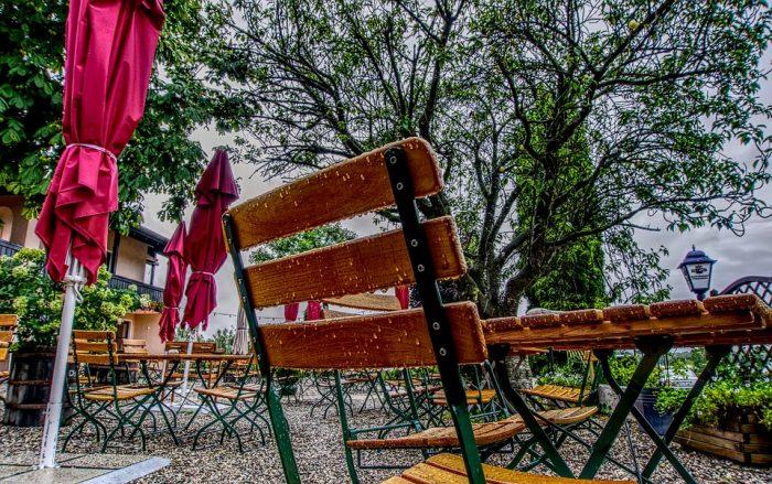 Copertura per ombrellone a sbalzo in Tessuto Oxford 600D per ombrellone da Giardino da 2,7 m a 3,7 m Impermeabile OKPOW con Cerniera