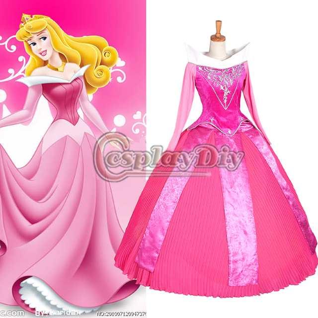 taglia 7 stile squisito selezione speciale di Costumi carnevale principessa Aurora: Prezzi e Offerte