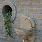 Fontane a muro da giardino