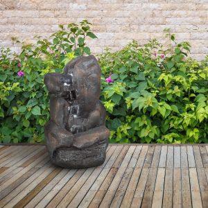 migliori fontane in resina da giardino