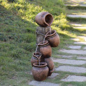 migliori fontane in resina per il giardino