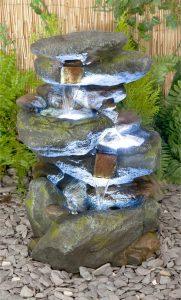 le più belle fontane in resina per esterno
