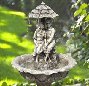 migliori fontane ad energia solare per il giardino