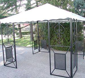 offerte gazebo in ferro battuto da giardino