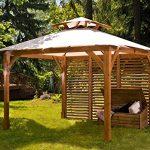 offerte gazebo in legno da giardino