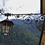 Lampioni in ferro battuto da giardino