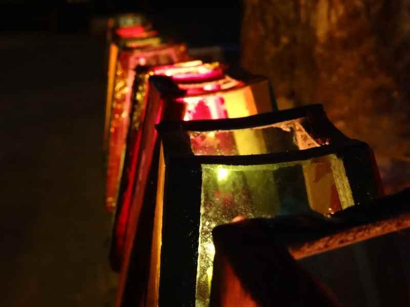 Lanterne Natalizie colorate