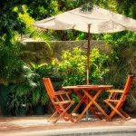 Luci per ombrelloni da giardino