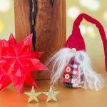 Origami di Natale con Babbo Natale