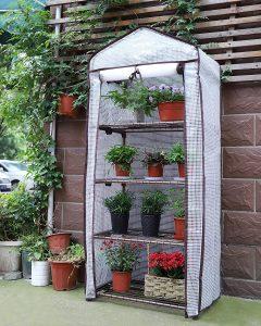 mini serre da balcone e giardino