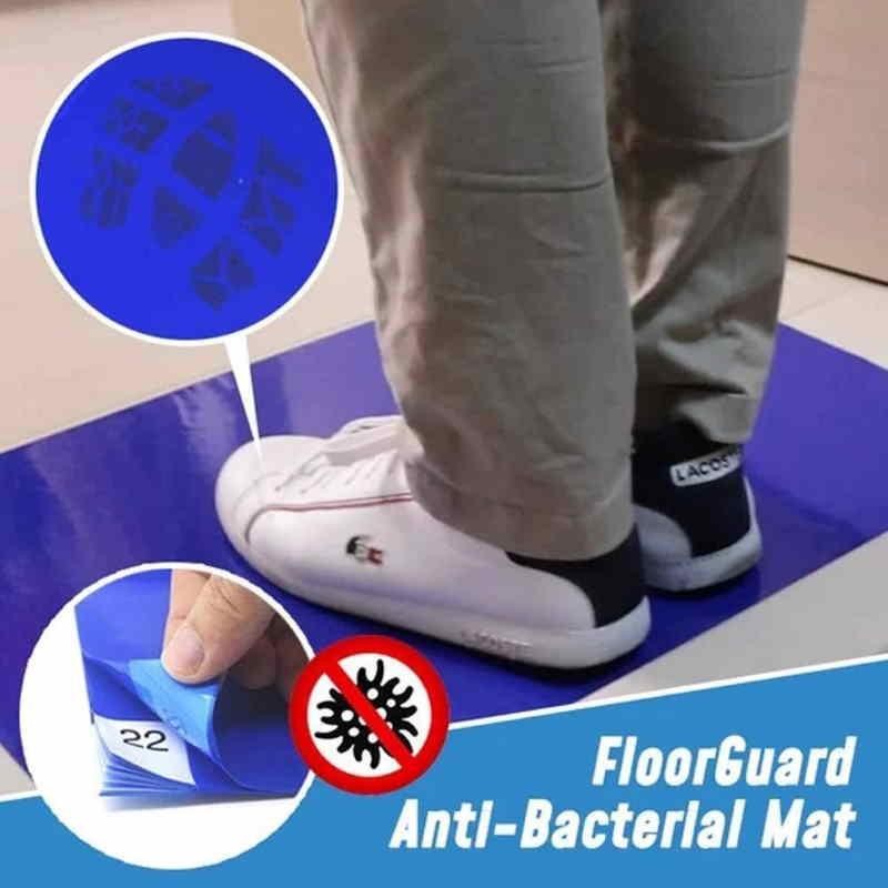 Tappeto antibatterico e disinfettante